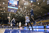 DURHAM, NC - JANUARY 26: Kierra Fletcher #41 of Georgia Tech shoots a layup during a game between Georgia Tech and Duke at Cameron Indoor Stadium on January 26, 2020 in Durham, North Carolina.
