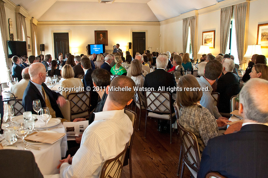 Institute of Classical Architecture & Art John Staub Awards held at the Bayou Club
