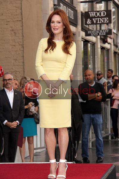 Julianne Moore<br /> at Julianne Moore's Star on the Hollywood Walk of Fame Ceremony, Hollywood Walk of Fame, Hollywood, CA 10-03-13<br /> David Edwards/Dailyceleb.com 818-249-4998