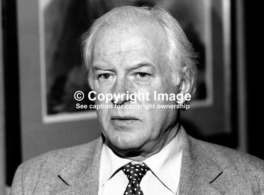 Derek Montieth, secretary, N Ireland Council, British Boxing Board of Control, 198202009DM2.<br />