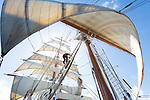 Caribbean Sea Cloud Sailing