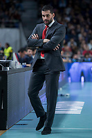 Crvena Zvezda coach Dusan Alimpijevic during Turkish Airlines Euroleague match between Real Madrid and Crvena Zvezda at Wizink Center in Madrid, Spain. December 01, 2017. (ALTERPHOTOS/Borja B.Hojas) /NortePhoto.com NORTEPHOTOMEXICO
