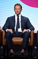 2019 FOX SUMMER TCA: BH90210 cast member Ian Ziering during the BH90210 panel at the 2019 FOX SUMMER TCA at the Beverly Hilton Hotel, Wednesday, Aug. 7 in Beverly Hills, CA. CR: Frank Micelotta/FOX/PictureGroup
