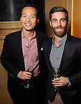 Larry Ting and Arzhang Salahshoor at a dessert reception for Louis Gossett Jr. and the Anti-Defamation League at Chateau Carnarvon Tuesday Nov. 11, 2014.(Dave Rossman photo)