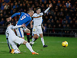 Kenny Miller scores his third goal of the match
