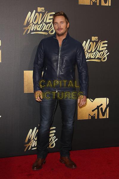 Burbank, CA - April 09 Chris Pratt Attending 25th Annual MTV Movie Awards at Warner Brothers Studios On April 09, 2016. <br /> CAP/ADM/FS<br /> &copy;FS/ADM/Capital Pictures