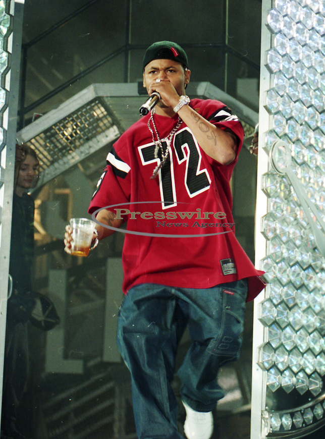 Rapper Juvenile aka Terius Gray of Cash Money Records in concert at Reunion Arena in Dallas, Texas July 1999.  Photo credit: Presswire News/Elgin Edmonds