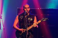 """SÃO PAULO - 16-11-2014 - AUDIO CLUB - DREADNOX <br /> A banda carioca Dreadnox na ativa desde 1993, foi a responsável pelo show de abertura desta noite de domingo. O conjunto está divulgando seu novo álbum """"The Hero Inside"""" e é formada por: Fabio Schneider (voz), Kiko Dittert (guitarra), Dead Montana (baixo) e Felipe Curi (bateria)<br /> Foto: Flavio Hopp/Brazil Photo Press"""