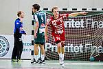 Stockholm 2013-11-10 Handboll Elitserien Hammarby IF - Eskilstuna Guif :  <br /> Eskilstuna Guif Daniel Pettersson jublar efter att ha gjort ett m&aring;l<br /> (Foto: Kenta J&ouml;nsson) Nyckelord:  jubel gl&auml;dje lycka glad happy
