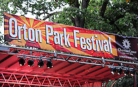 The 2012 Orton Park Festival runs from Thursday through Sunday, 8/23 - 8/26, 2012 in Madison, Wisconsin