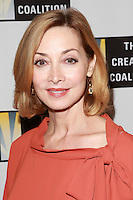 LOS ANGELES, CA, USA - OCTOBER 21: Sharon Lawrence arrives at The Creative Coalition's 'Art of Discovery' Los Angeles Launch Party held at the Home of Lawrence Bender on October 21, 2014 in Los Angeles, California, United States. (Photo by David Acosta/Celebrity Monitor)