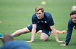 FK Trakai v St Johnstone&hellip;05.07.17&hellip; Europa League 1st Qualifying Round 2nd Leg<br />St Johnstone training at the LFF Stadium in Vilnius, Lithuania pictured Liam Craig during the session<br />Picture by Graeme Hart.<br />Copyright Perthshire Picture Agency<br />Tel: 01738 623350  Mobile: 07990 594431