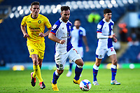 Blackburn Rovers' Adam Armstrong in action <br /> <br /> Photographer Richard Martin-Roberts/CameraSport<br /> <br /> The EFL Sky Bet Championship - Blackburn Rovers v Wycombe Wanderers - Saturday 19 September 2020 - Ewood Park - Blackburn<br /> <br /> World Copyright © 2020 CameraSport. All rights reserved. 43 Linden Ave. Countesthorpe. Leicester. England. LE8 5PG - Tel: +44 (0) 116 277 4147 - admin@camerasport.com - www.camerasport.com