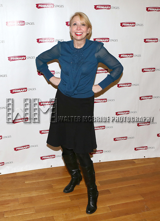 Julie Halston attending the Meet & Greet for the Primary Stages production of 'The Tribute Artist' at their rehearsal studios  on January 7, 2014 in New York City.