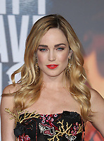 LOS ANGELES, CA - NOVEMBER 13: Caity Lotz, at the Justice League film Premiere on November 13, 2017 at the Dolby Theatre in Los Angeles, California. Credit: Faye Sadou/MediaPunch /NortePhoto.com