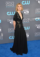 Alison Sudol at the 23rd Annual Critics' Choice Awards at Barker Hangar, Santa Monica, USA 11 Jan. 2018<br /> Picture: Paul Smith/Featureflash/SilverHub 0208 004 5359 sales@silverhubmedia.com
