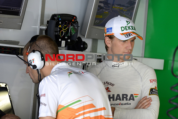 04. - 07.10.2012, Suzuka International Racing Course, Suzuka, JPN, F1, Grosser Preis von Japan, Suzuka, im Bild Nico Huelkenberg (GER), Force India Formula One Team <br />  Foto &copy; nph / Mathis
