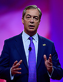 Nigel Farage, Member of the European Parliament, speaks at the Conservative Political Action Conference (CPAC) at the Gaylord National Resort and Convention Center in National Harbor, Maryland on Friday, March 1, 2019.<br /> Credit: Ron Sachs / CNP Nigel Farage, Member of the European Parliament, speaks at the Conservative Political Action Conference (CPAC) at the Gaylord National Resort and Convention Center in National Harbor, Maryland on Friday, March 1, 2019.<br /> Credit: Ron Sachs / CNP