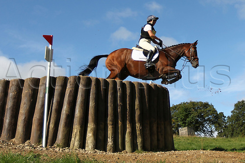 25.09.2010 Equestrian Aske Horse trials, North Yorkshire, UK. . Jeanette Brakewell riding Primitive Pistol.