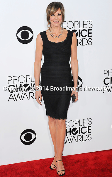 Pictured: Allison Janney<br /> Mandatory Credit &copy; Adhemar Sburlati/Broadimage<br /> People's Choice Awards 2014 - Arrivals<br /> <br /> 1/8/14, Los Angeles, California, United States of America<br /> <br /> Broadimage Newswire<br /> Los Angeles 1+  (310) 301-1027<br /> New York      1+  (646) 827-9134<br /> sales@broadimage.com<br /> http://www.broadimage.com