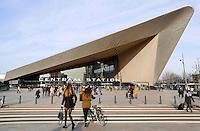 Rotterdam- Het nieuwe Centraal Station