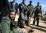 Members of Hamas' security forces plant a tree as they mark Land Day in Gaza March 30, 2010. March 30th marks Land Day, the annual commemoration of protests in 1976 against Israel's appropriation of Arab-owned land in the Galilee. Photo by Ashraf Amra