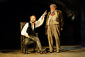 "Bath, Avon, UK. 25/07/2011. ""Henry IV, Part I"", part of the Peter Hall season at Theatre Royal Bath. Tom Mison as Prince Hal and Desmond Barrit as Sir John Falstaff. Photo credit: Jane Hobson"