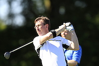 Peter Lawrie (IRL) team during Wednesday's Pro-Am of the 2014 Irish Open held at Fota Island Resort, Cork, Ireland. 18th June 2014.<br /> Picture: Eoin Clarke www.golffile.ie
