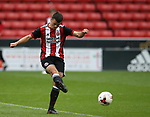 Jordan Doherty of Sheffield Utd during the U23 Professional Development League Two match at Bramall Lane Stadium, Sheffield. Picture date 18th August 2017. Picture credit should read: Simon Bellis/Sportimage