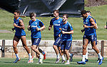 24.06.2019 Rangers training in Algarve: James Tavernier, Ryan Jack, Borna Barisic, Andy Halliday and Connor Goldson