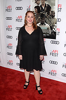 HOLLYWOOD, CA - NOVEMBER 09: Hillary Jordan at AFI Fest 2017 Opening Night Gala Screening Of Netflix's Mudbound at TCL Chinese Theatre on November 9, 2017 in Hollywood, California. Credit: David Edwards/MediaPunch