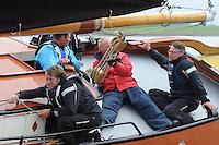 SKUTSJESILEN: LEMMER: Baai van Lemmer, 29-05-2014, Lemmer Ahoy, ©foto Martin de Jong