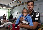 Sean Wainui. Suva Children's Hospital. Suva, Fiji. July 10 2015. Photo: Marc Weakley