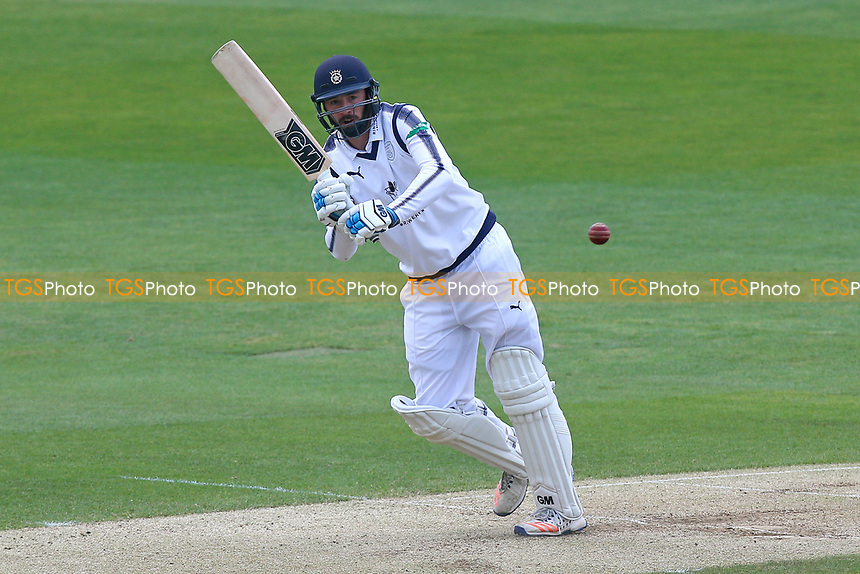 James Vince in batting action for Hampshire during Essex CCC vs Hampshire CCC, Specsavers County Championship Division 1 Cricket at The Cloudfm County Ground on 21st May 2017