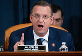 United States Representative Doug Collins (Republican of Georgia), Ranking Member, US House Judiciary Committee, speaks during a US House Judiciary Committee hearing on the impeachment of US President Donald Trump on Capitol Hill in Washington, DC, December 4, 2019.<br /> Credit: Saul Loeb / Pool via CNP