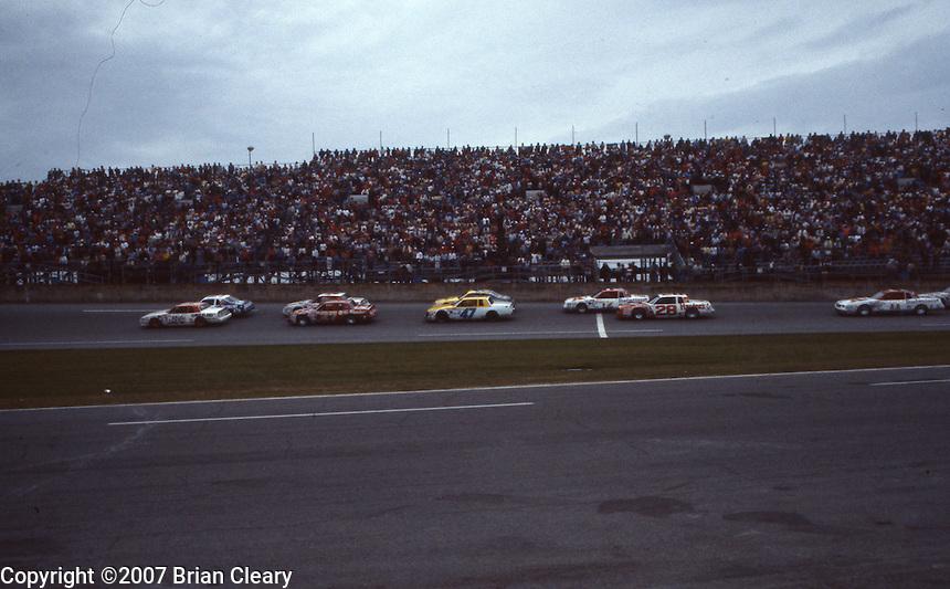 Daytona 500 at Daytona International Speedway in Daytona Beach, FL on February 19, 1984. (Photo by Brian Cleary/www.bcpix.com)