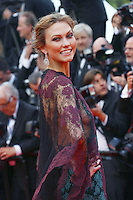 Karlie Kloss attends the 'Grace of Monaco' Premiere - 67th Cannes Film Festival - France