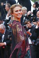 Karlie Kloss attends the 'Grace of Monaco' Premiere - 67th Cannes Film Festival - France