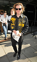 Dougie Poynter at the LFW (Men's) s/s 2019 What We Wear catwalk show, BFC Showspace, The Store Studios, The Strand, London, England, UK, on Monday 11 June 2018.<br /> CAP/CAN<br /> &copy;CAN/Capital Pictures