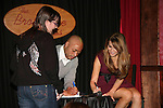 J.R. Martinez and Chrishell Stause came to see fans on November 22, 2009 at the Brokerage Comedy Club & Vaudeville Cafe, Bellmore, NY for a Q & A, autographs and photos. (Photo by Sue Coflin/Max Photos)
