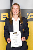Girls Cricket winner Roseanne Cox from Epsom Girls Grammar School. ASB College Sport Young Sportperson of the Year Awards 2008 held at Eden Park, Auckland, on Thursday November 13th, 2008.