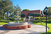 Fountain on Camino Capistrano In Downtown San Juan Capistrano California