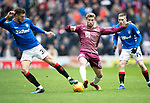 Rangers v St Johnstone&hellip;16.02.19&hellip;   Ibrox    SPFL<br />David Wotherspoon and Borna Barisic<br />Picture by Graeme Hart. <br />Copyright Perthshire Picture Agency<br />Tel: 01738 623350  Mobile: 07990 594431