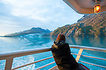 Johns Hopkins Glacier in Glacier Bay National Park in Alaska's Inside Passage aboard the National Geographic Sea Bird
