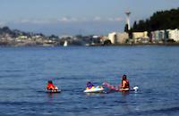 West Seattle, Washington USA   1 August, 2002.At play, Alki Beach...F.Peirce Williams .photography.P.O.Box 455  Eaton,OH 45320 USA.p: 317.358.7326  e: fpwp@mac.com