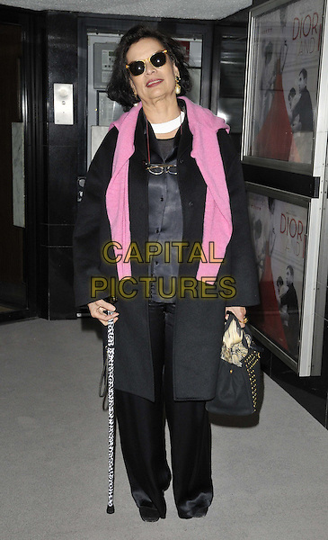LONDON, ENGLAND - MARCH 16: Bianca Jagger attends the &quot;Dior and I&quot; UK film premiere, Curzon Mayfair cinema, Curzon St., on Monday March 16, 2015 in London, England, UK. <br /> CAP/CAN<br /> &copy;CAN/Capital Pictures