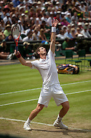 24-06-10, Tennis, England, Wimbledon, Andy Murray