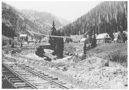 This could be Chattanooga on the Silverton RR.  Probably not RGS at all.<br /> Silverton RR ?  Chattanooga ?, CO