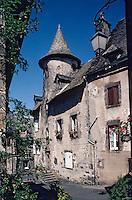 Europe/France/Auvergne/15/Cantal/Salers: La maison Bertranoy