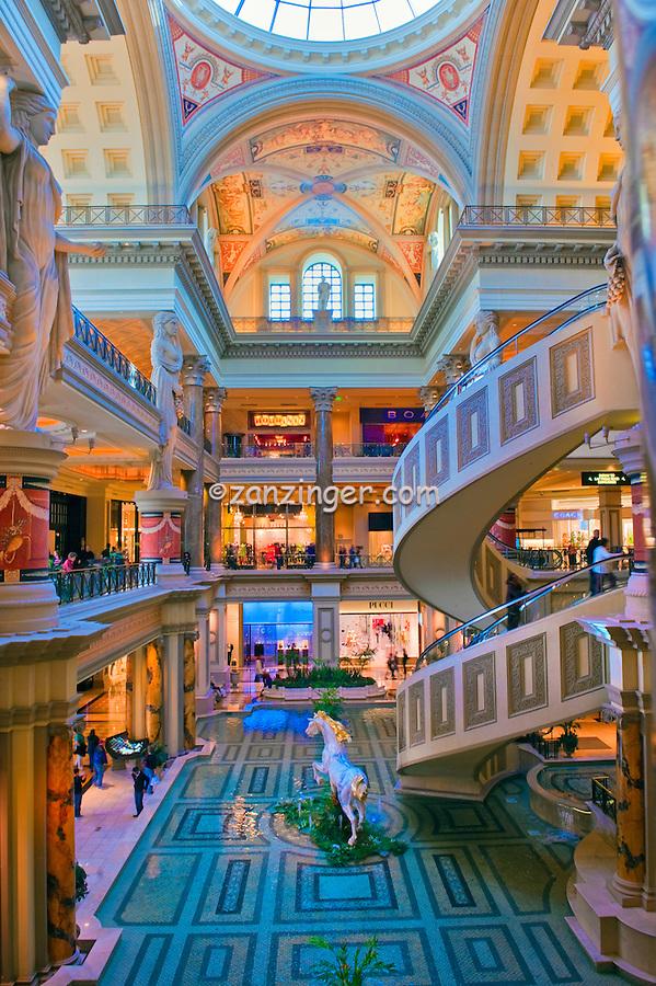 Forum Shops, Caesars Palace, Hotel, Casino, Las Vegas' premier, retail, dining,  entertainment, destination,  160 boutiques, shops,13 restaurants, specialty food shops , Vertical,